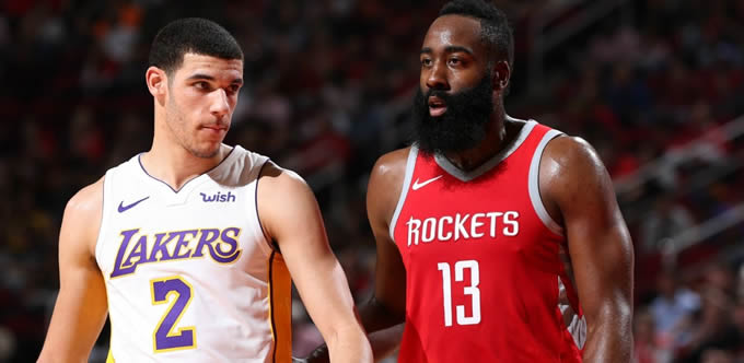 Lakers, Rockets'e 'Dur' dedi.