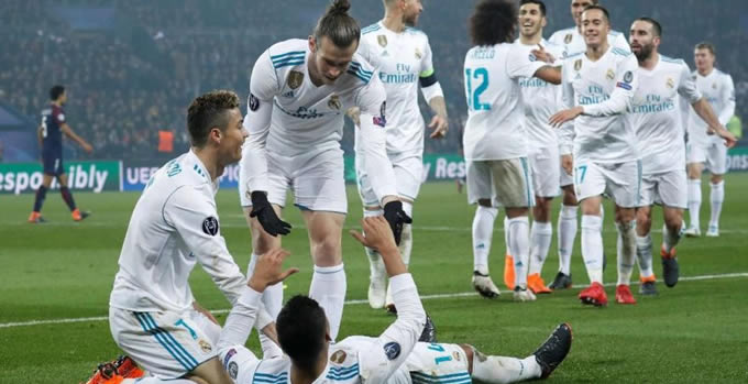 Real Madrid Ve Liverpool Çeyrek Finalde