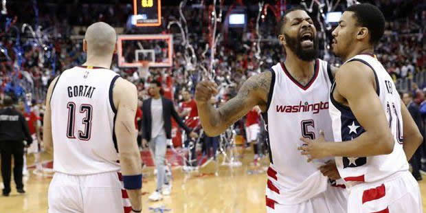 Washington Wizards 3.5 saniyede seriye tutundu