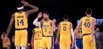Tok gözlü Los Angeles Lakers
