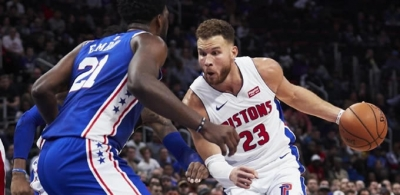 Blake Griffin'den Müthiş Performans