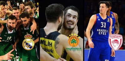 Euroleague'de play-off başlıyor