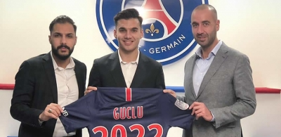 Metehan Güçlü Paris Saint-Germain'da