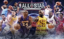 NBA All Star'da ilk 5'ler belli oldu