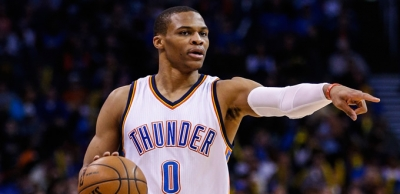 NBA'de normal sezona Russell Westbrook damgası
