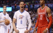 Oklahoma City Thunder Westbrook ile uçuyor