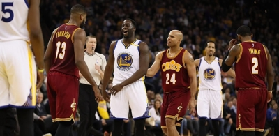 Warriors, Cleveland Cavaliers'e fark attı